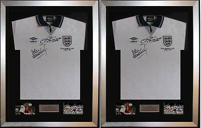 "2 X Frame For Signed Football Shirt plus any 2 Landscape 6"" x 4"" photos"