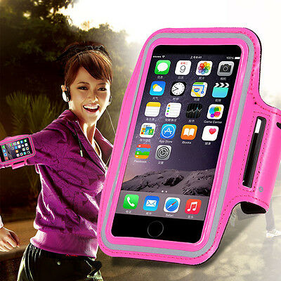 For Apple iPhone 4 4S Running Jogging Exercise Sports Gym Armband Case Cover