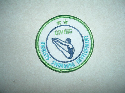 Patch Non Military Kirklees Swimming Development Diving