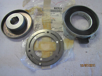 """RIETER ZF 6632 128 071 ELECTRIC MAGNETIC CLUTCH 24V 24 V  1 3/16"""" id NEW"""