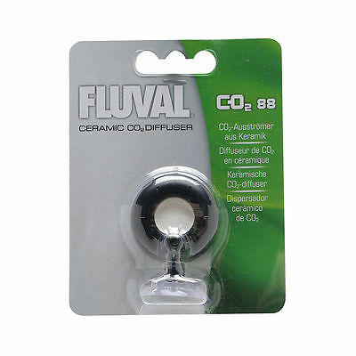 Fluval Plant Pressurised CO2 Ceramic Diffuser 88g For Aquarium Fish Tank System
