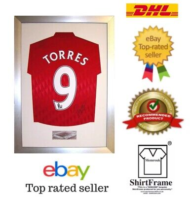 Ready Made DIY Frame For Signed Medium Large Any Football Shirt Free Metal Plate