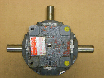 BOSTON GEAR 3 way R1216 TYPE K RIGHT ANGLE DRIVE SPEED REDUCER GEARBOX RATIO 1:1