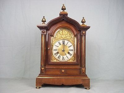 Fully Serviced 8 Day Striking c1910 H.A.C. Co. Bracket Clock