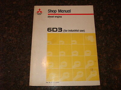 mitsubishi 6d22 22 t tc diesel engine parts catalog manual manual rh picclick com Mitsubishi Outlander Mitsubishi Eclipse Manual