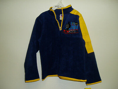 Thomas & Friends Fleece Pull Over Size 7 BRAND NEW!  HAD907