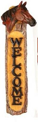 HORSE Welcome Sign-Indoor or Outdoor Welcome for Home or Barn