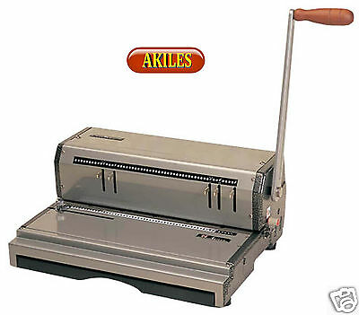 "Akiles Coilmac-M Coil Binding Machine & Punch 13"" ( New )"