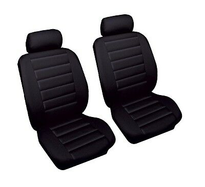01-07 VAUXHALL CORSA C FRONT LEATHER LOOK PAIR CAR SEAT COVER SET