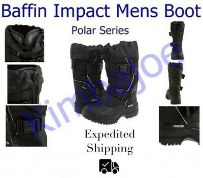 Baffin Impact Mens Winter Boots, Polar Series, Sizes 9 10 11 12 13 14 15