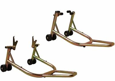 T-Rex 35YRWRNTY Double Swingarms Front Rear Yamaha Suzuki MORE Motorcycle Stands