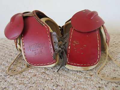 "Vintage  Pair Of Child's Mini ""hutch"" Football Pads"