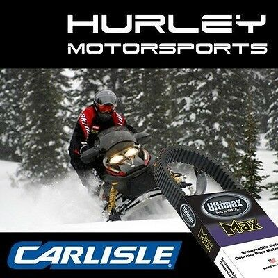 CARLISLE Ultimax MAX 3 Snowmobile Belt MAX1035 MAX1035M3