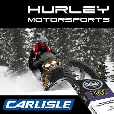 CARLISLE Ultimax MAX 3 Snowmobile Belt MAX1132 MAX1132M3