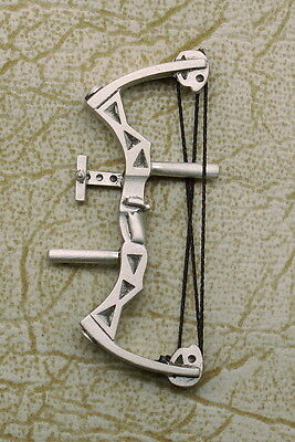 Empire Pewter Target Compound Bow Archery Pin (CB41)
