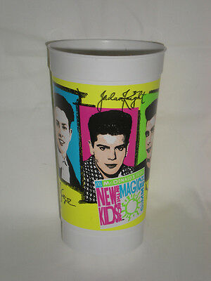 McDonald's New Kids on the Block Plastic Drinking Cup