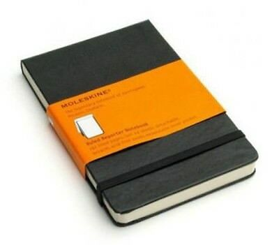 Moleskine Reporter Notebook Hardcover Black - Large