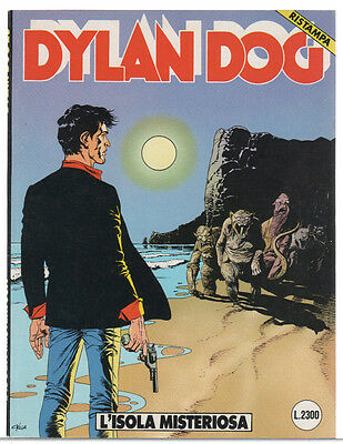 Dylan Dog L'ISOLA MISTERIOSA n.23 Prima Ristampa 1991