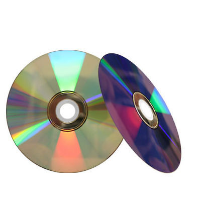 100 16X Blank Shiny Silver Top Blank DVD-R DVDR Recordable Disc 4.7GB