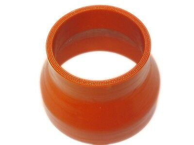 RED Silicone Hose 102mm to 76mm Reducer (Silicon)