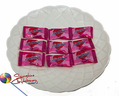 Heartbeat Strawberry Love Candy-  40 Pieces - Lollies-Candies