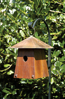 Avian Bungalow Bird House by Heartwood - cypress wood