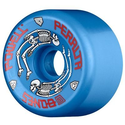 Powell Peralta G BONES Skateboard Wheels 64mm 97a BLUE