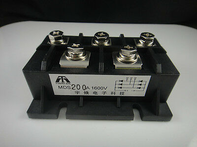 MDS200A 3-Phase Diode Bridge Rectifier 200A Amp 1600V