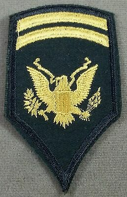 US Army Vintage Specialist 1st Class Sleeve Rank Insignia / 1956 / NOS Pair