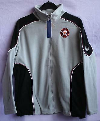 NORTH GEAR ZIPPED MICROFLEECE TOP with EMBROIDERED NORTHANTS ROSE LOGO, RRP £24