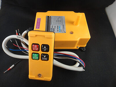 AC 110V 4 Channels Hoist Crane Radio Remote Control System