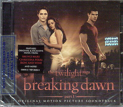 THE TWILIGHT SAGA BREAKING DAWN PART 1 SOUNDTRACK SEALED CD NEW 2011
