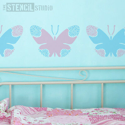 Lacewing Butterfly Stencil for Decorating girls bedroom - Arts & Crafts  10322