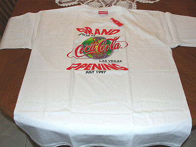 World Of Coca Cola Las Vegas Grand Opening T Shirt July 1997 Xl Made In Usa