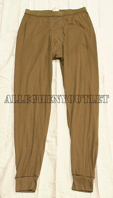 US Military LWCWUS Lightweight Cold Weather Long Underwear PANTS DRAWERS MEDIUM