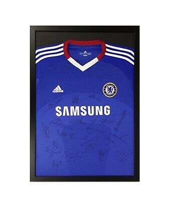 Classic Frame To Display Football Shirt For Signed Shirt Black