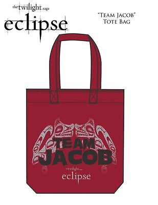 ECLIPSE TOTE BAG Team Jacob twilight red NEW
