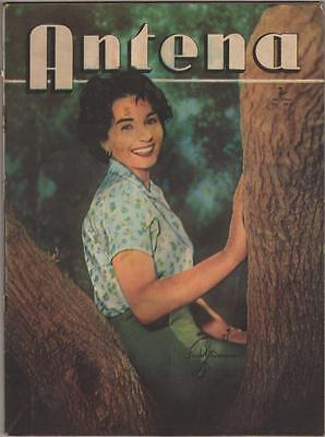 JEAN SIMMONS,Antena ,Cover in Argentina Magazine ,1958