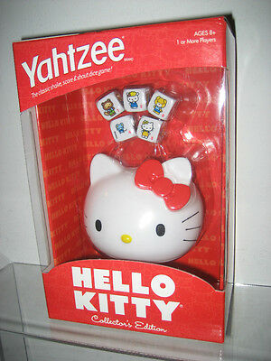 HELLO KITTY YAHTZEE COLLECTOR'S EDITION NEW CUTE FREE USA SHIPPING