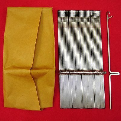 Neu 100 Nadeln für Strickmaschinen Brother KH260-KH270 Knitting Machine Needles