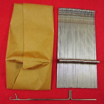 Neu 100 Nadeln für Strickmaschinen Brother KR260 Knitting Machine Needles