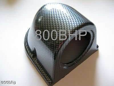 Single Gauge Pod (for 52mm Gauge) - Carbon Effect Look Dash Mount Holder