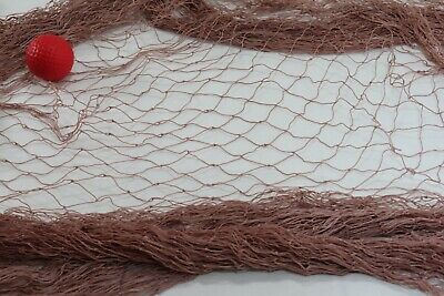 20 X 9 FT FISHING NET NETTING BARRIER PET NAUTICAL DECK  Cage, Chicken, White, n