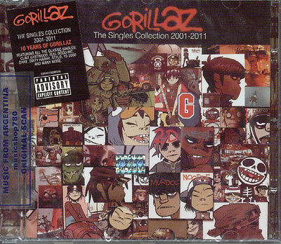 GORILLAZ THE SINGLES COLLECTION 2001-2011 SEALED CD NEW GREATEST HITS BEST