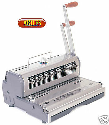 "Akiles WireMac-21 Wire Binding Machine & Punch 2:1 pitch 14"" ( New ) AWM-21"