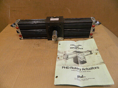Phd Rotary Actuator 3R11H 6360-107-P-D-G 750 Bpsi Max 207 New