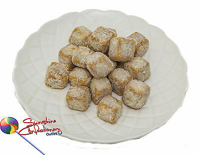 Caramel Coconut Kisses - 500 gm - Vintage Lollies, Candies, Treats