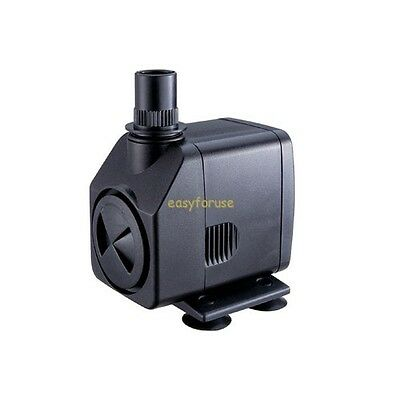 264 GPH Submersible Pump - Fountain * Pond * Waterfall * Hydroponics * Waterbowl