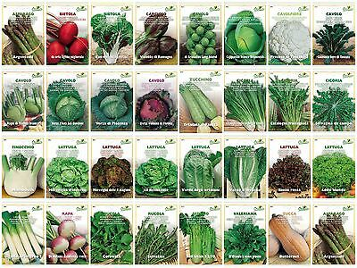 Vegetable seeds Superior Quality 30 VARIETIES TO CHOOSE FROM