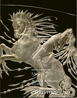 CHRISTIE'S LALIQUE Art Glass Auction Catalog 2009